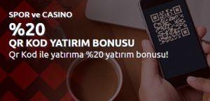 Bahisnow QR Kod Yatırım Bonusları